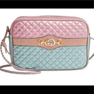 Gucci Metallic Trapuntata Quilted Bag